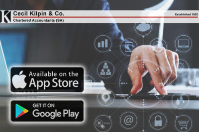 Cecil Kilpin | CA(SA) - Accounting & Auditing Specialists >>Cecil Kilpin Launches New SmartPhone APP